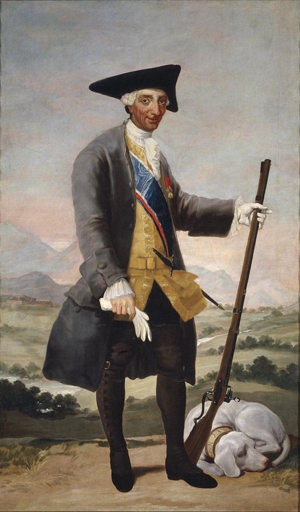 Франсиско Гойя Карл III Охотник (исп. Carlos III  Сazador Goya)