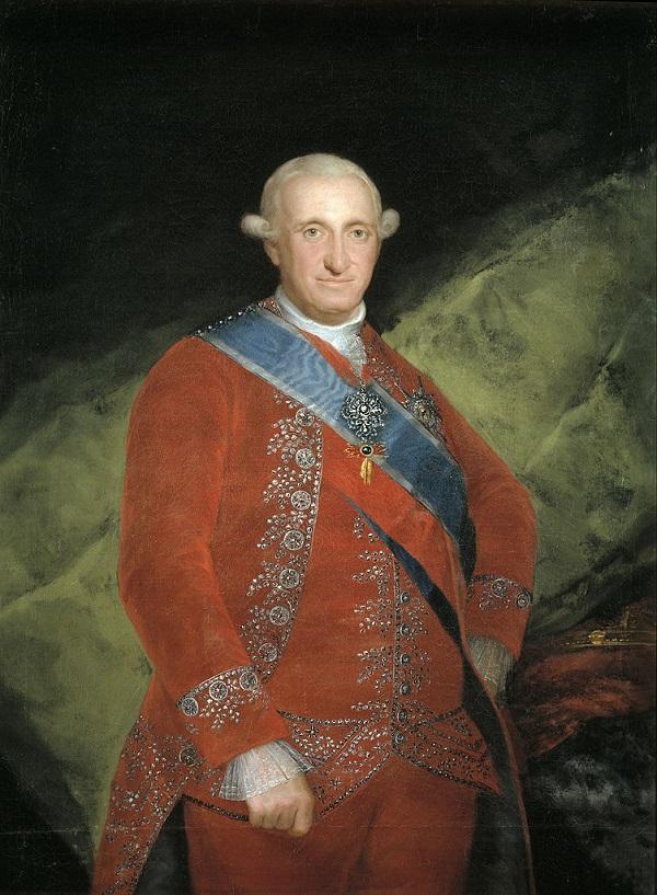 Карл IV в красном  (исп. Carlos IV de rojo)