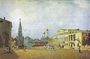 Акварель Василия Садовникова  1840-е годы