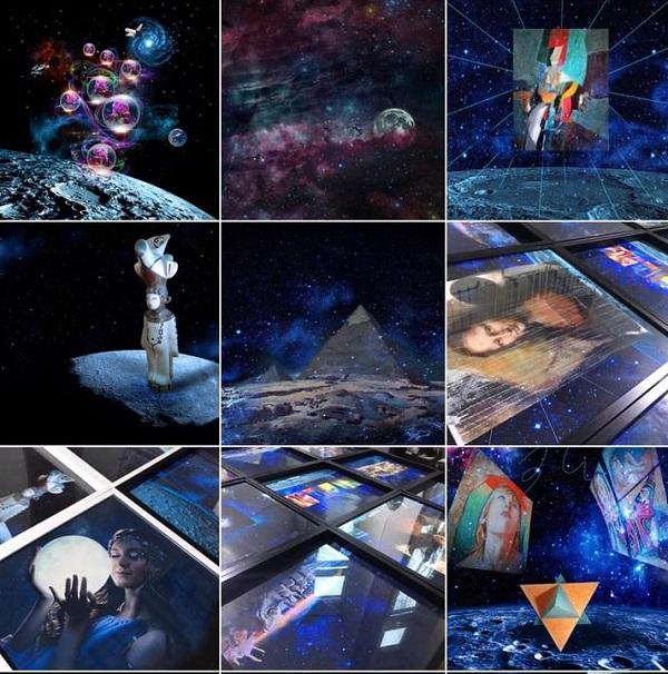 Созерцание Космоса Первая Выставка на Луне АРТ-Релиз.РФ