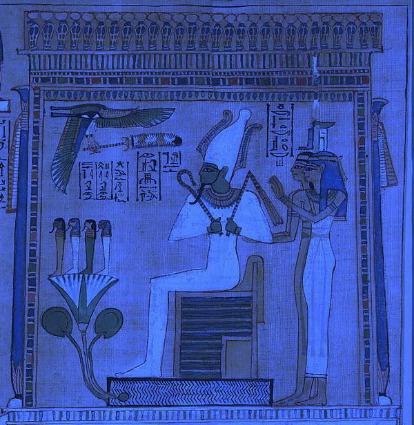 Сцена взвешивания сердца на суде Осириса  Книга мертвых из гробницы Хунефера   British Museum free image service