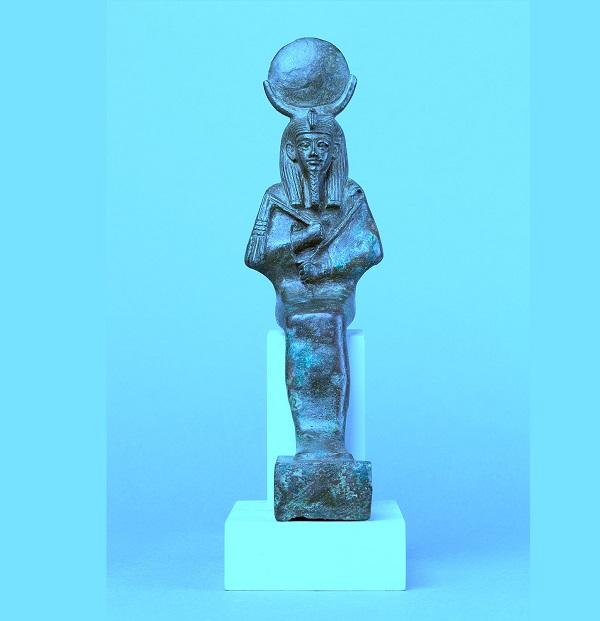 Осирис-Ях  египетский бог луны в музее Метрополитен