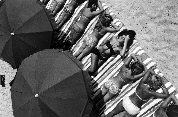"""Эллиот Эрвит  """"Сен-Тропе"""" Франция 1959 г."""