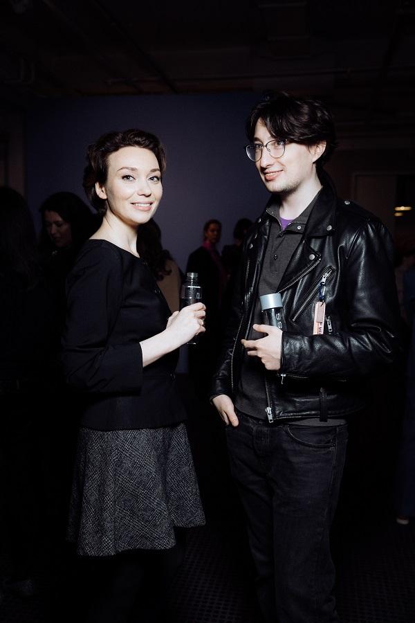 Евгения Милова и Александр Радаев  проект «Le Jardin» Александры Вертинской 31 марта 2021