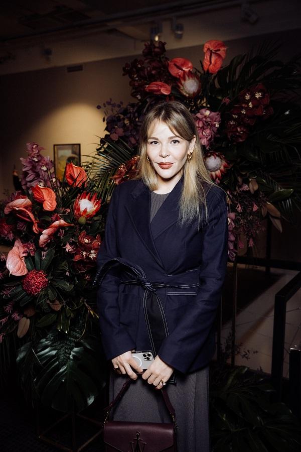Елизавета Некрасова проект «Le Jardin» Александры Вертинской 31 марта 2021