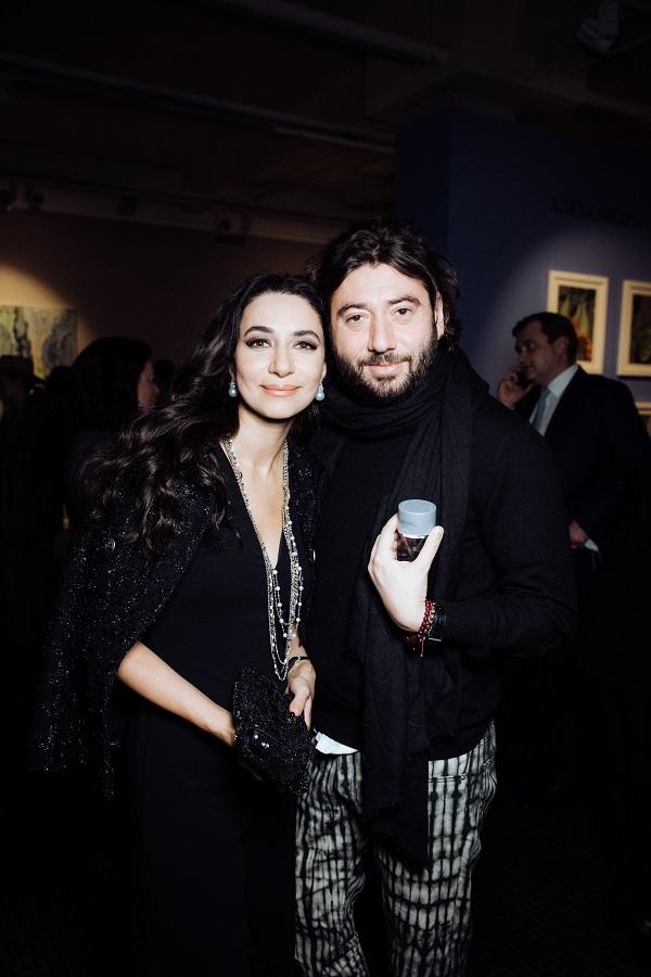 Зара и Михаил Друян проект «Le Jardin» Александры Вертинской 31 марта 2021