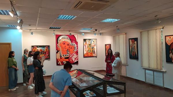 Маргарита Юркова выставка во Владимире фото 8 АРт-Релиз.РФ.